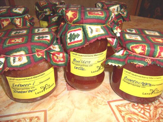 Marmelade für den Weihnachtsmarkt 2021